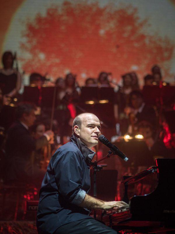"""The Piano Man"" Mario Pecoraro spielt in der Remise. Mackowitz"