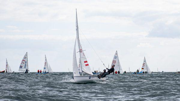 Trotz schwieriger Bedingungen kletterten Bargehr/Mähr auf den 20. Gesamtrang. Matesa/Candidate Sailing