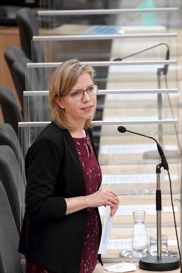 Umweltministerin Leonore Gewessler (Grüne).APA