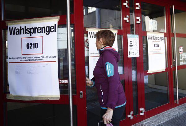 Unter anderem in der Landeshauptstadt Klagenfurt wird heute noch einmal gewählt. apa