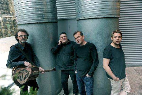 Von links: Walter Schuler, George Nussbaumer, Markus Kreil und Lucas Bitschnau.Heribert Corn