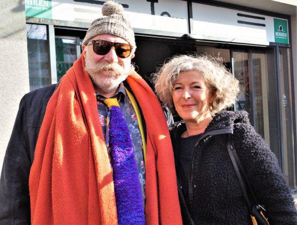 Willi Meusburger und Ursula Schwendinger.