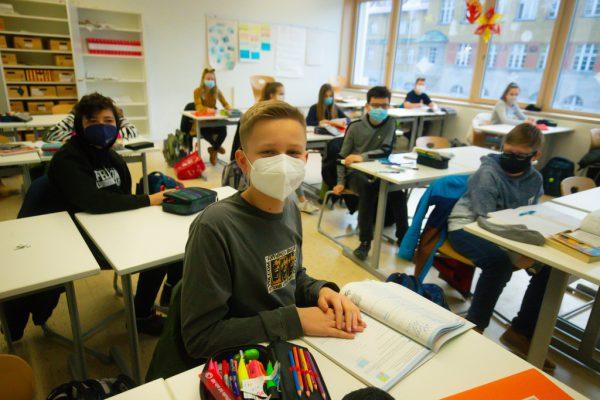 Ab 17. Mai sollen die Schulen wieder in den Normalbetrieb zurückkehren. Klaus Hartinger
