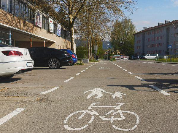Bei der Schule Weidach wird die Verkehrssicherheit erhöht.Stadt Bregenz