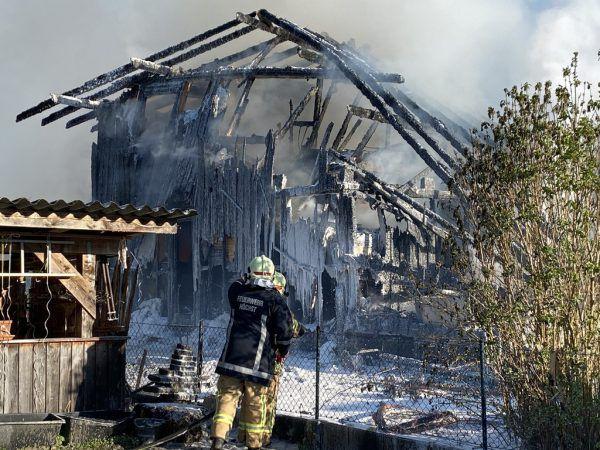 Brand in Gaißau.Mirjam Mayer