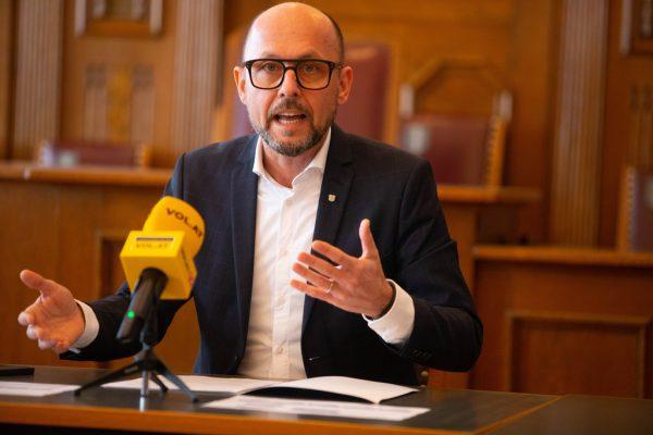 Bürgermeister Michael Ritsch.Hartinger