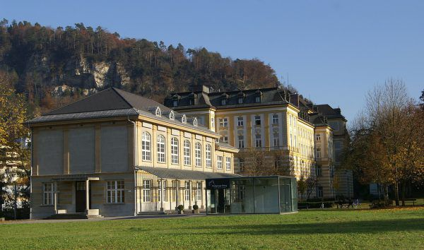 Das Pförtnerhaus in Feldkirch: Hier wurde die Beleuchtung und deren Steuerung auf den neuesten Stand gebracht. LEnz-Nenning