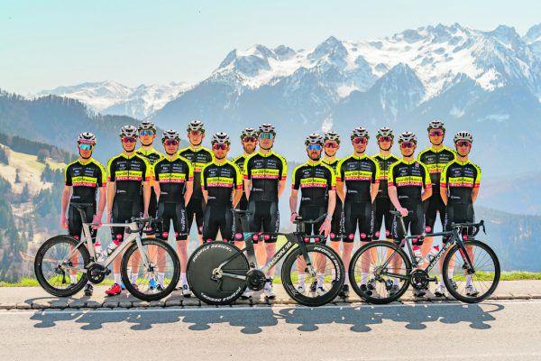 Das Team Vorarlberg der Saison 2021.Detmar Stiplovsek (5), Team Vorarlberg (12)