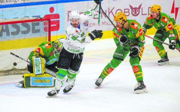 Die Lustenauer mussten gestern vier Tore hinnehmen. Klaus Hartinger