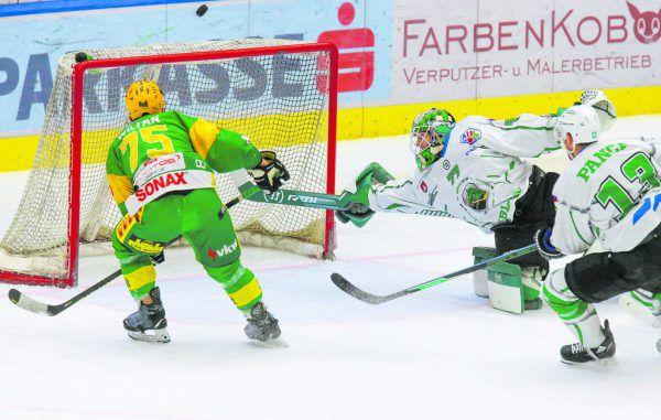 Die Lustenauer wollen heute Tore bejubeln – dafür braucht es vor allem ein besseres Überzahlspiel als in Spiel eins.Klaus Hartinger