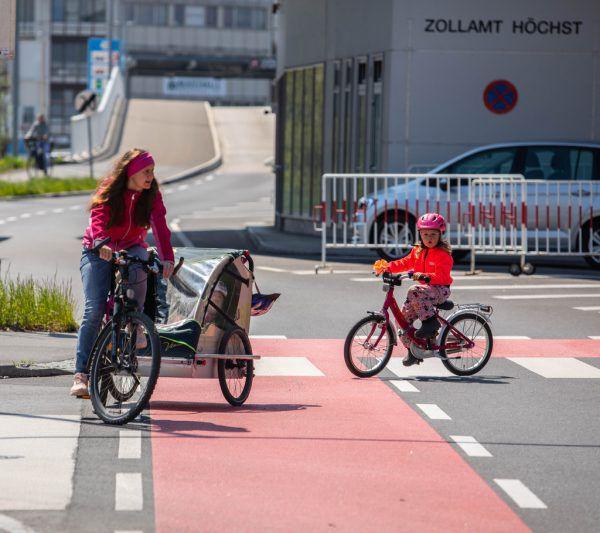 Die Radinfrastruktur in Vorarlberg wird sukzessive ausgebaut.Hartinger