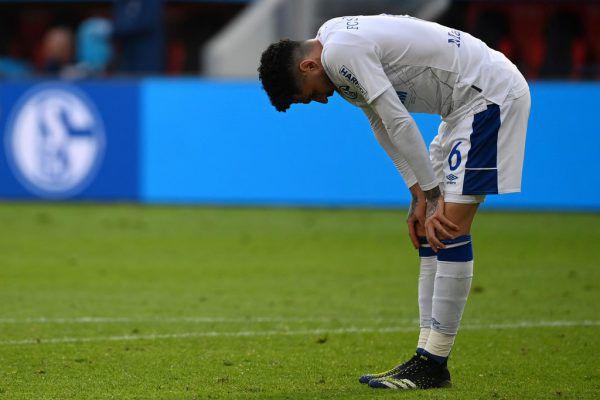 Die schlechten Nachrichten reißen bei Schalke nicht ab. AFP