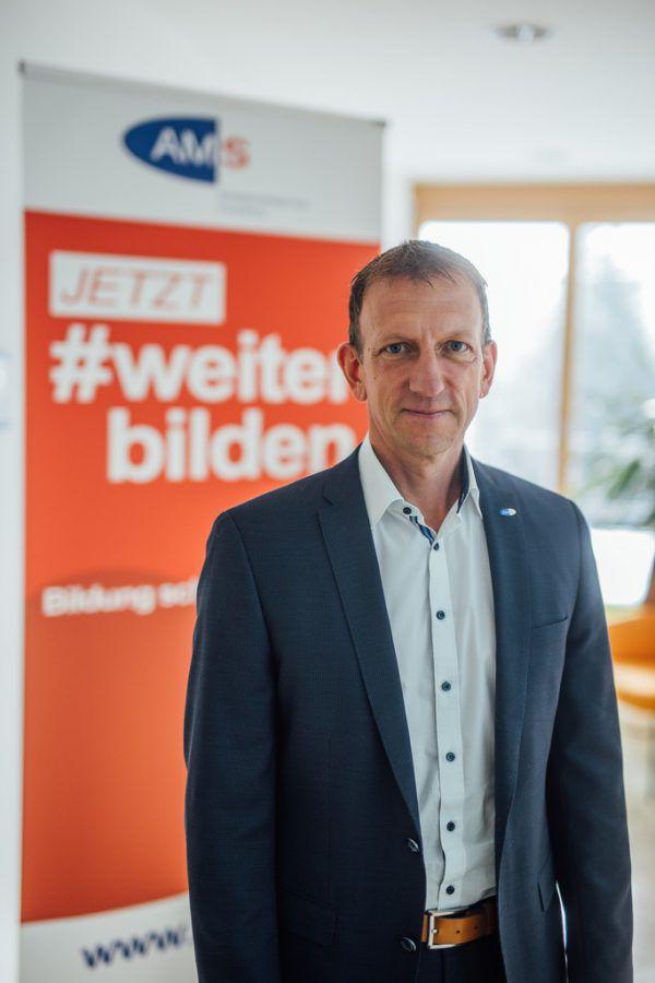 AMS-Landeschef Bernhard Bereuter.Frederick Sams