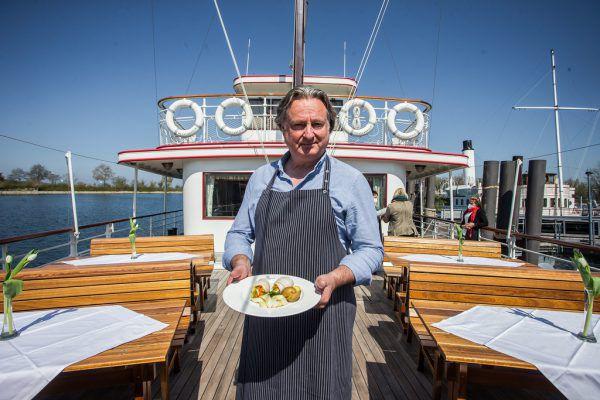Gastro-Tipp, Heino Hubers Hafen Kneipe Pop-Up-Restaurant auf der Oesterreich.