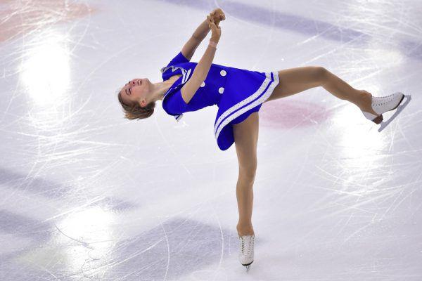 In diesem und im vergangenen Jahr triumphierte Mikutina bei den Staatsmeisterschaften. Nun gelang ihr der erste große internationale Erfolg. gepa (3), ap