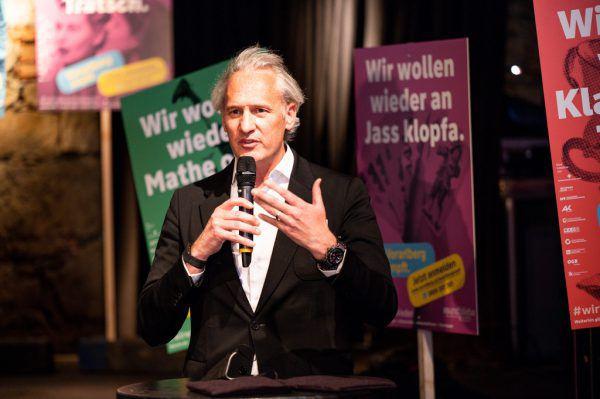 IV-Präsident Ohneberg ist ein Impfbefürworter.Serra