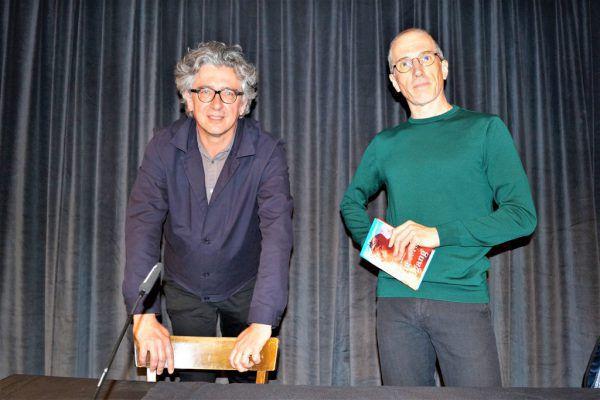 Jürgen Thaler (l.) mit dem Autor Hans Platzgumer.Yasmin Ritter (7)
