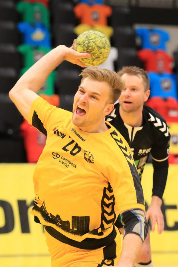 Kreisläufer Florian Mohr dominierte die zweite Halbzeit.gepa