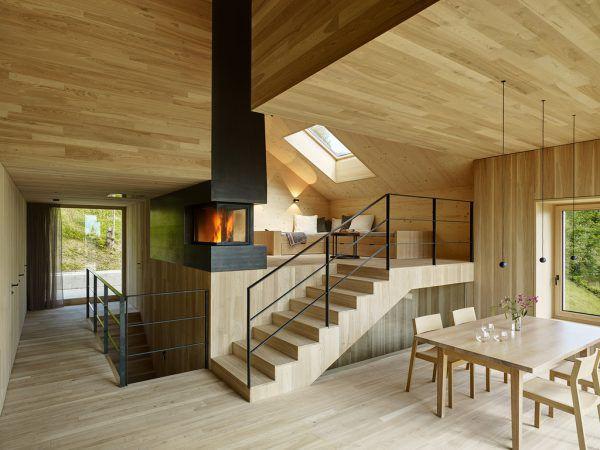 Lichtdurchflutet kommt die Holzbauweise wunderbar zur Geltung.Marc Lins (4), Privat (3)