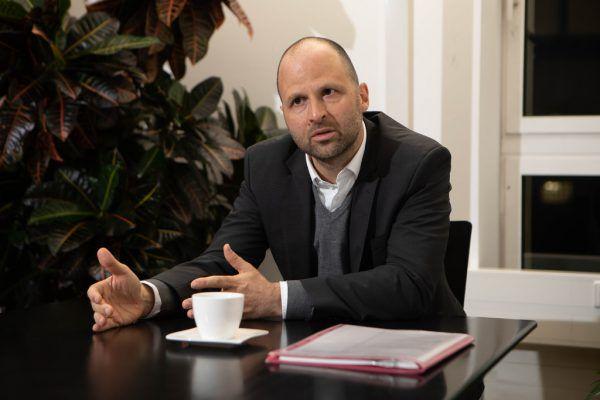 LR Marco Tittler. Klaus Hartinger