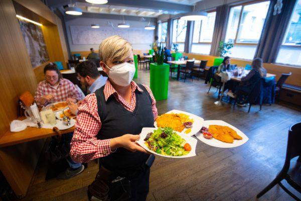 Nur in Vorarlberg ist Essen gehen derzeit möglich.Hartinger