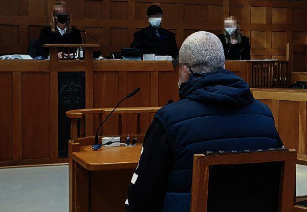 Prozess wegen versuchten Mordes an der Ehefrau.APA/CHRISTIANE ECKER