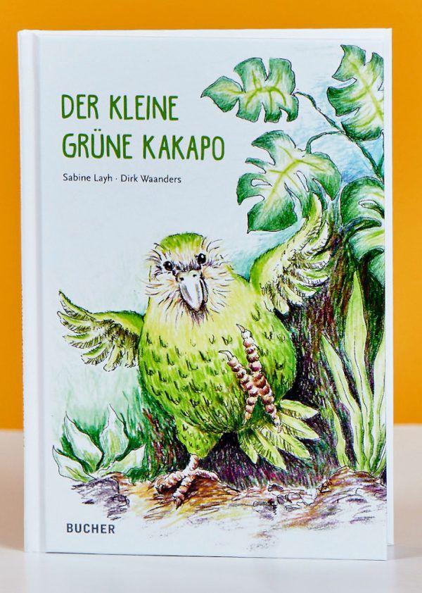 Sabine Layh und Dirk Waanders. Der kleine grüne Kakapo. Bucher Verlag, 80 Seiten, 14,50 Euro.