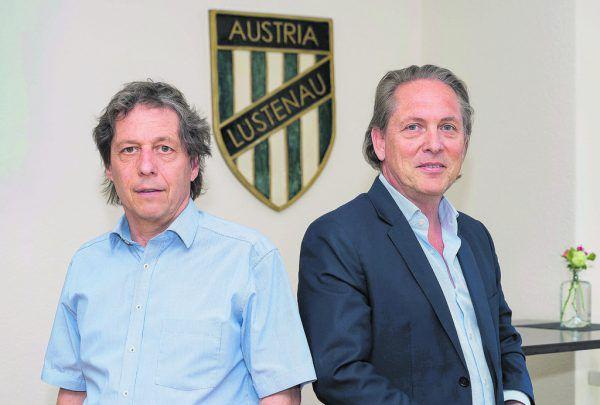 Seite an Seite: Bernd Bösch und Christoph Wirnsperger stehen im Sport-Talk Rede und Antwort. Hinter den beiden liegen turbulente Tage.Stiplovsek