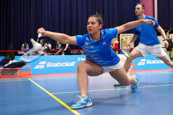 Serena Au Yeong ist bei der EM in Kiew im Einsatz. Heute greift sie in den Mixed-Bewerb ein. GEPA