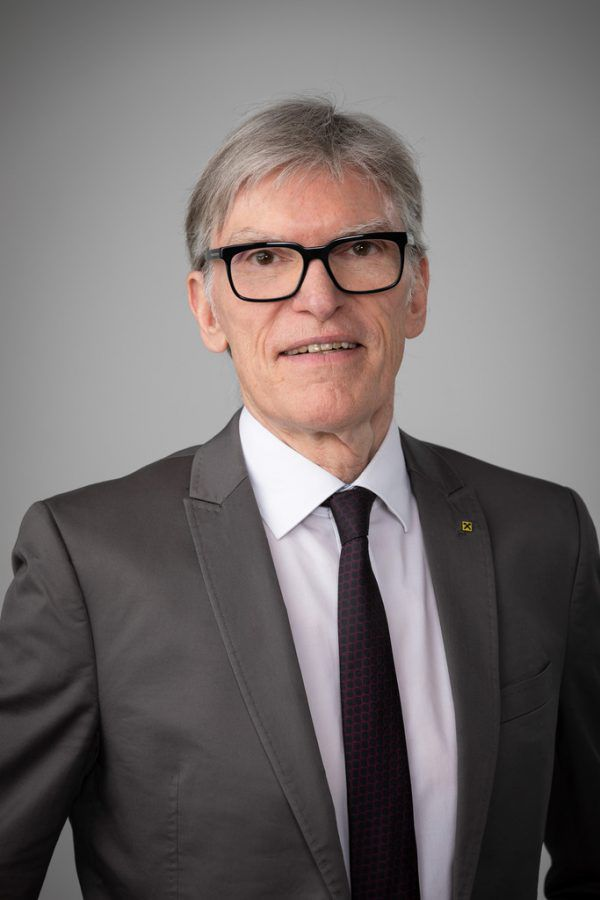 Wilfried Hopfner, Vorstandsvorsitzender der Raiffeisenlandesbank. RLB Vorarblerg