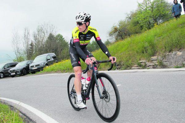 Adria Moreno wurde bei der Mercan Tour im Hinterland von Nizza Sechster.Team Vorarlberg
