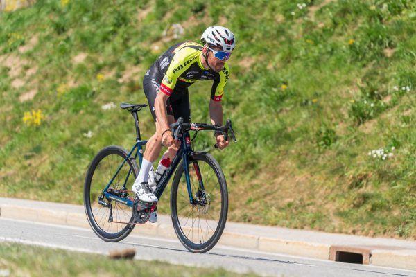 Alexis Guerin führt sein Team bei der Mercan Tour an.stiplovsek