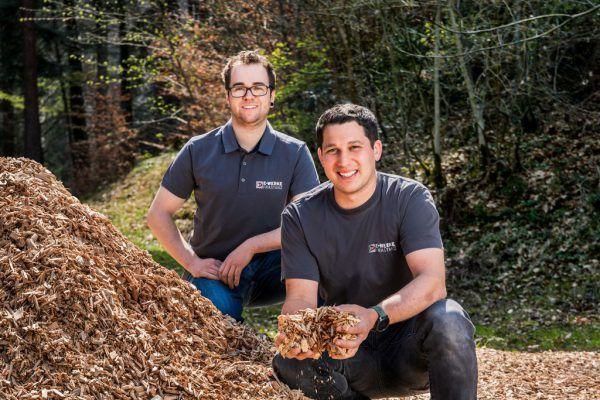 Andreas Gaßner und Marc Gabriel.E-Werke Frastanz