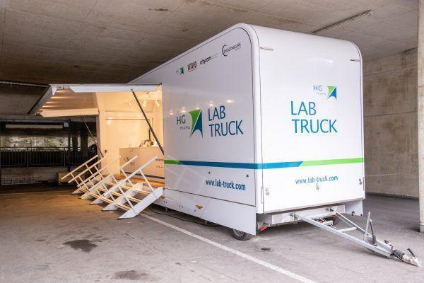 Auch das Rote Kreuz Vorarlberg beauftragte die Laborfirma HG Lab Truck GmbH, die wegen zweifelhafter PCR-Testauswertungen in die Schlagzeilen gekommen war. APA