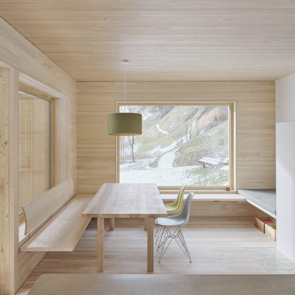 Außen und innen ist Holz das dominierende Element.David Schreyer, Privat (3), Fotoclub Sonntag (2)
