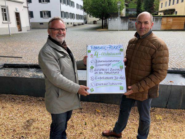 Christoph Metzler und Alexander Schwaszta. Grüne