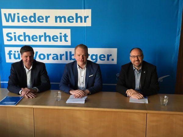 Daniel Allgäuer (l.) und Christof Bitschi haben einen Antrag zur S 18 eingebracht. Rauch