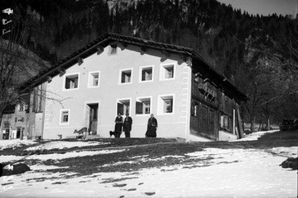 Das Dalberto-Haus in Wald am Arlberg. Museumsverein Klostertal