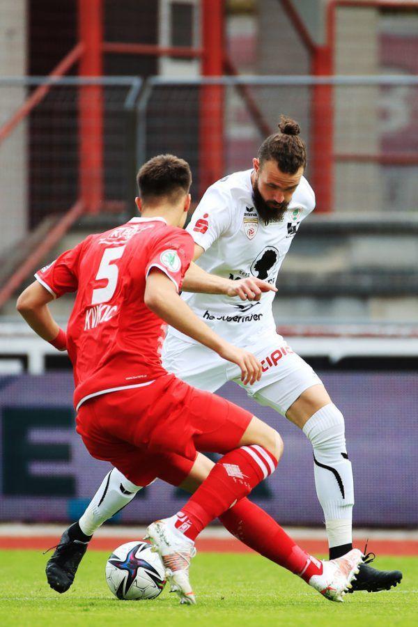 Deniz Mujic (r.) und Co. dürfen zum Abschluss der Saison vor Fans ran.gepa