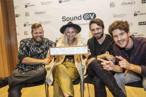 Die Band Junipa Gold hat 2020 unter anderem einen Preis gewonnen. ORF Vorarlberg