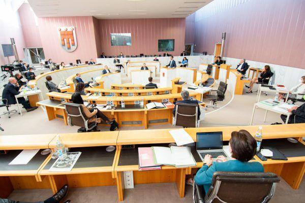 Die nächste Landtagssitzung findet kommenden Mittwoch statt.Vorarlberger Landtag/Serra