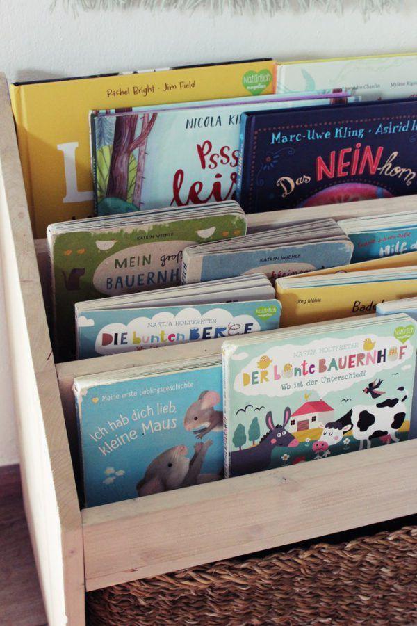 Ein praktisches Regal für Bücher und Spielzeug der Kleinen. Jasmine Hörhager (3)