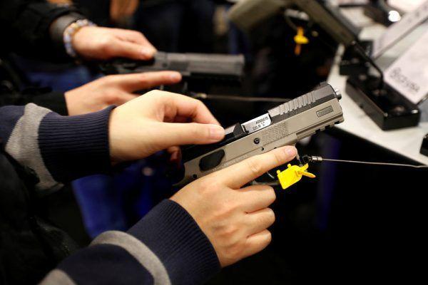 Ein Produkt der CZG bei einer Waffen-Show in Las Vegas. Reuters