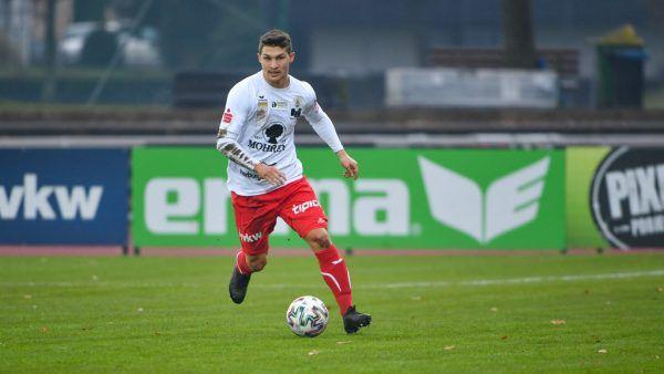 Ein weiteres Jahr für Christoph Domig beim FC Dornbirn.gepa/lerch