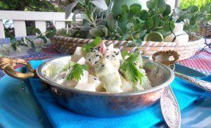 Kohlrabi-Radieschen-Salat mit Creme