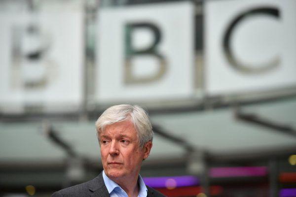Ex-BBC-Chef Tony Hall beteuert die Ereignisse vor 25 Jahren.AFP