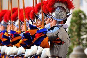 34 Rekruten für Schweizergarde im Vatikan