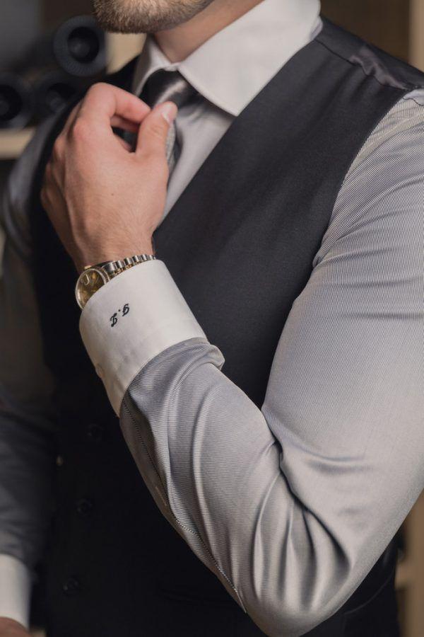 Filip Zlatkovic selbst besitzt um die 50 Anzüge. Maßgeschneidert, versteht sich, denn so drückt er seine Persönlichkeit aus.Handout/Zlatkovic
