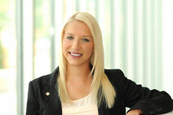 FPÖ-Jugendsprecherin Nicole Hosp. FPÖ Vorarlberg