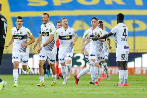 Für die Altacher ging am Freitag mit dem Auswärtsspiel bei der Admira die Saison 2020/21 zu Ende. gepa